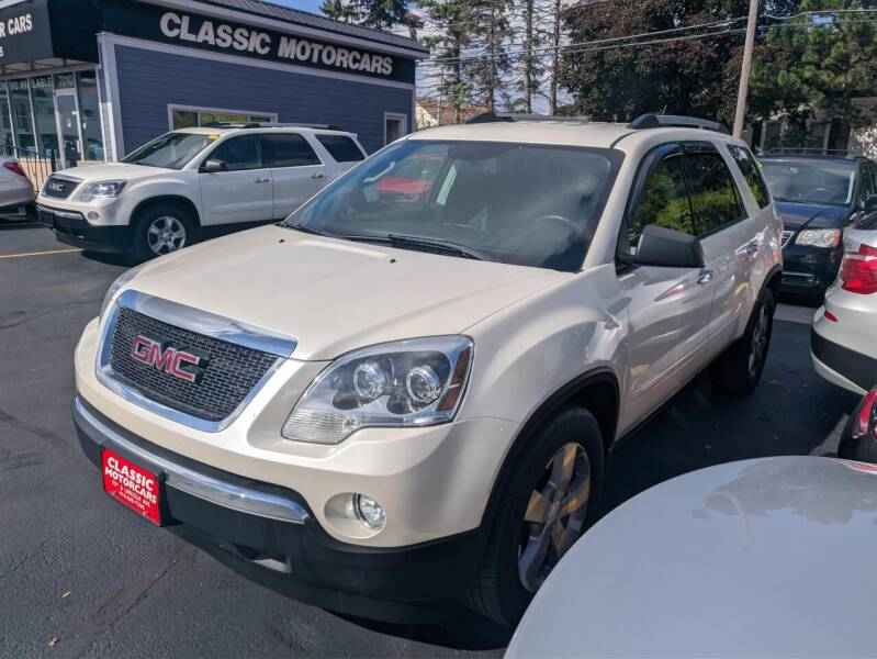 2012 GMC Acadia for sale at CLASSIC MOTOR CARS in West Allis WI