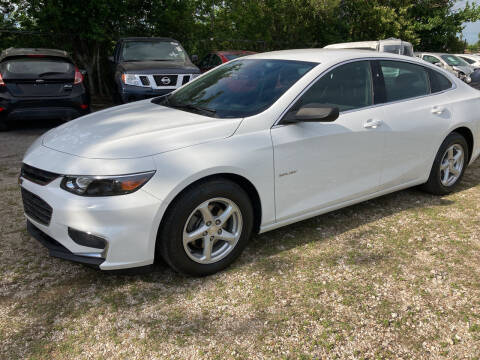 2017 Chevrolet Malibu for sale at Discount Auto Mart LLC in Houston TX