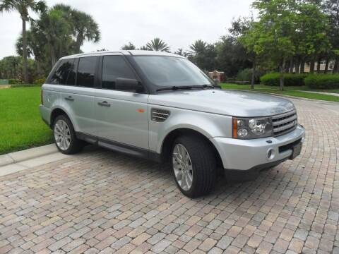 2007 Land Rover Range Rover Sport for sale at AUTO HOUSE FLORIDA in Pompano Beach FL