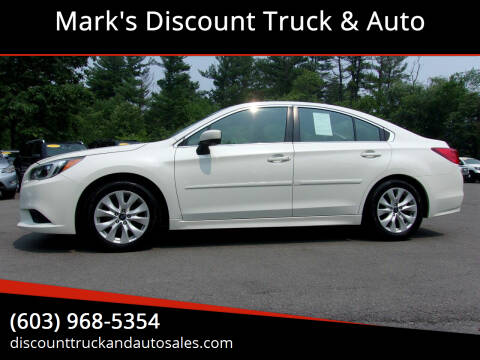 2016 Subaru Legacy for sale at Mark's Discount Truck & Auto in Londonderry NH
