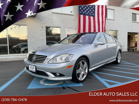 2008 Mercedes-Benz S-Class for sale at ELDER AUTO SALES LLC in Coeur D'Alene ID