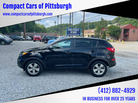2012 Kia Sportage for sale at Compact Cars of Pittsburgh in Pittsburgh PA