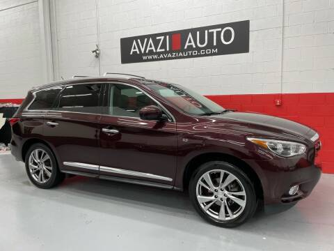 2014 Infiniti QX60 for sale at AVAZI AUTO GROUP LLC in Gaithersburg MD