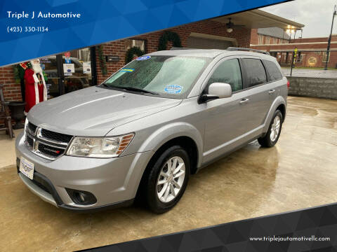 2016 Dodge Journey for sale at Triple J Automotive in Erwin TN