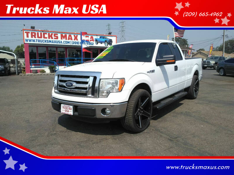 2012 Ford F-150 for sale at Trucks Max USA in Manteca CA