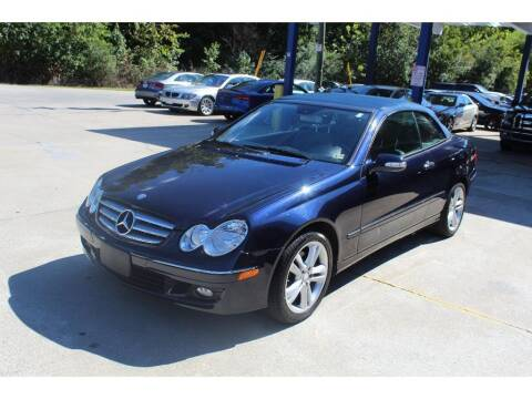 2008 Mercedes-Benz CLK for sale at Inline Auto Sales in Fuquay Varina NC