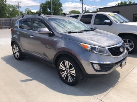 2016 Kia Sportage for sale at Tigerland Motors in Sedalia MO