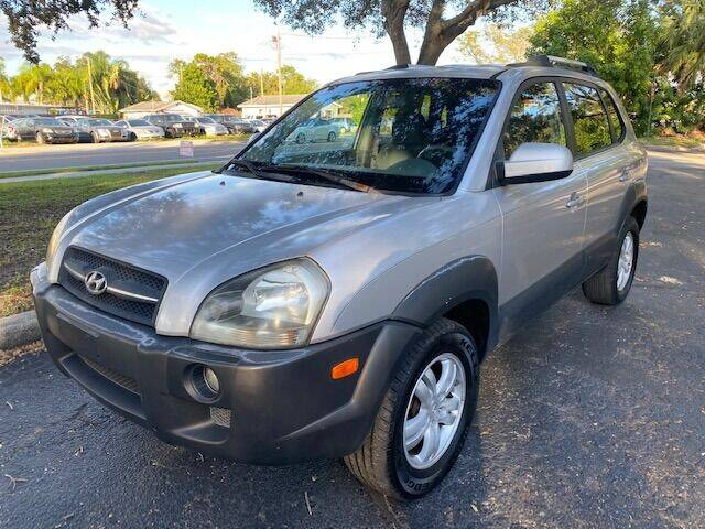 2006 Hyundai Tucson for sale at Florida Prestige Collection in St Petersburg FL