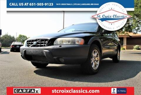 2006 Volvo XC70 for sale at St. Croix Classics in Lakeland MN