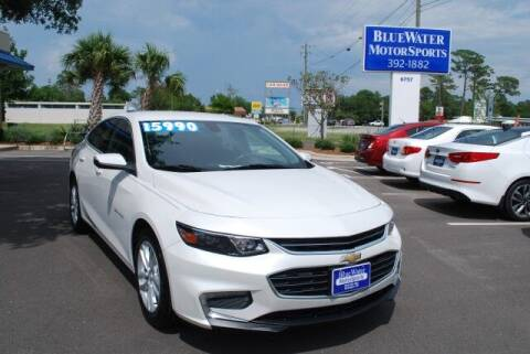 2017 Chevrolet Malibu for sale at BlueWater MotorSports in Wilmington NC