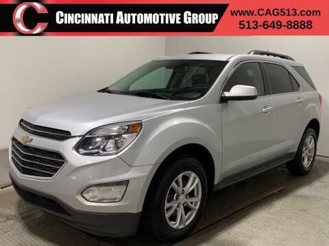 2017 Chevrolet Equinox for sale at Cincinnati Automotive Group in Lebanon OH
