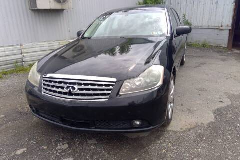 2006 Infiniti M35X for sale at Philadelphia Public Auto Auction in Philadelphia PA