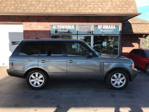 2008 Land Rover Range Rover for sale at AUTOWORKS OF OMAHA INC in Omaha NE