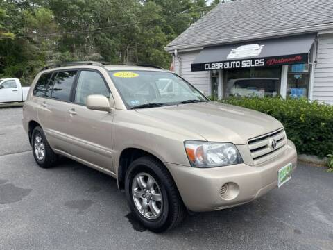 2005 Toyota Highlander for sale at Clear Auto Sales in Dartmouth MA
