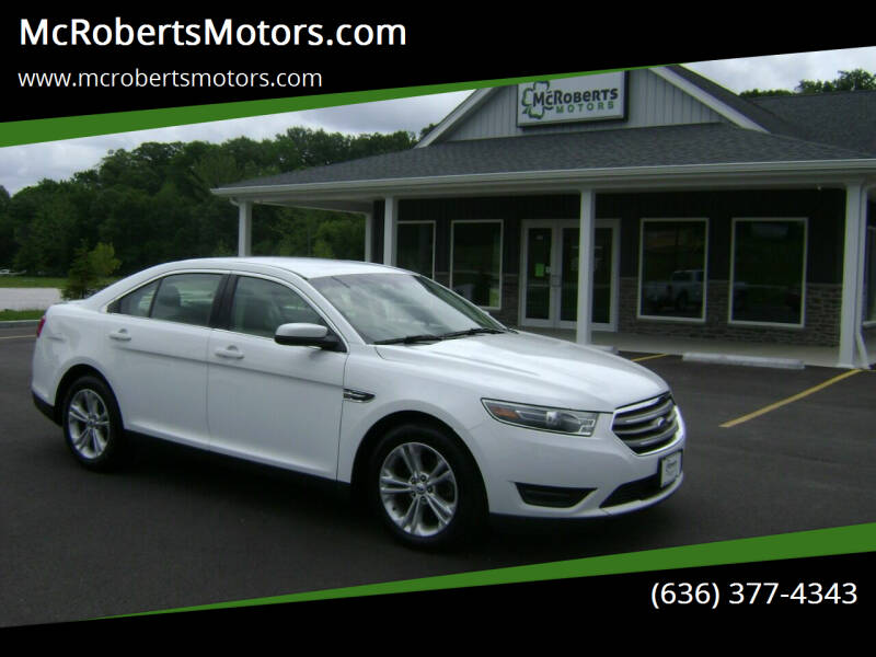 2018 Ford Taurus for sale at McRobertsMotors.com in Warrenton MO