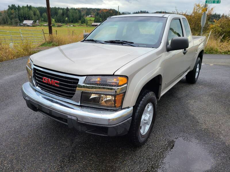 2007 GMC Canyon for sale at State Street Auto Sales in Centralia WA