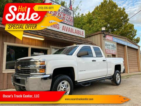 2015 Chevrolet Silverado 2500HD for sale at Oscar's Truck Center, LLC in Houston TX
