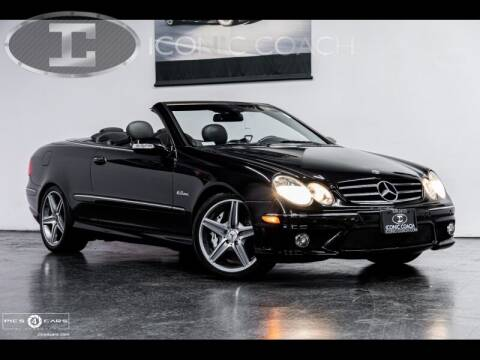 2007 Mercedes-Benz CLK for sale at Iconic Coach in San Diego CA