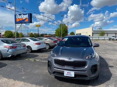 2018 Kia Sportage for sale at BUDGET CAR SALES in Amarillo TX
