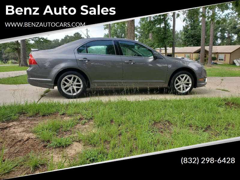 2012 Ford Fusion for sale at Benz auto sales in Willis TX