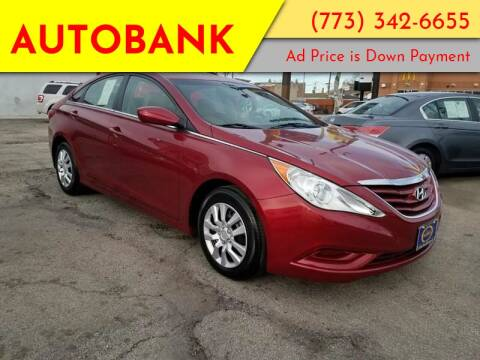 2011 Hyundai Sonata for sale at AutoBank in Chicago IL
