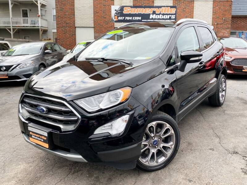 2020 Ford EcoSport for sale at Somerville Motors in Somerville MA