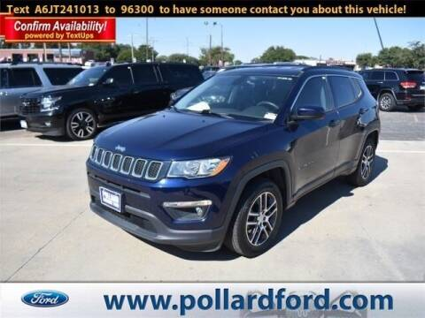 2018 Jeep Compass for sale at South Plains Autoplex by RANDY BUCHANAN in Lubbock TX