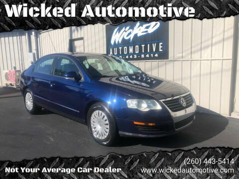 2007 Volkswagen Passat for sale at Wicked Automotive in Fort Wayne IN