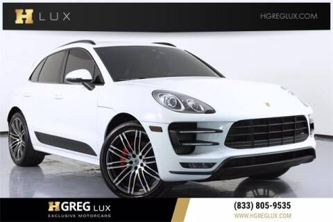 2018 Porsche Macan for sale at HGREG LUX EXCLUSIVE MOTORCARS in Pompano Beach FL