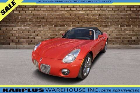2008 Pontiac Solstice for sale at Karplus Warehouse in Pacoima CA