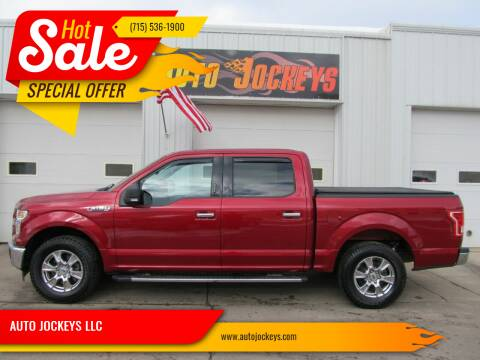 2017 Ford F-150 for sale at AUTO JOCKEYS LLC in Merrill WI