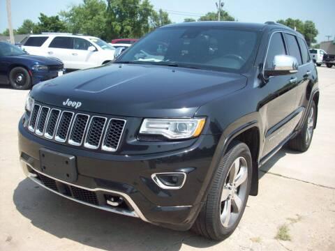 2016 Jeep Grand Cherokee for sale at Nemaha Valley Motors in Seneca KS