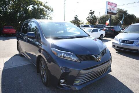 2020 Toyota Sienna for sale at Grant Car Concepts in Orlando FL