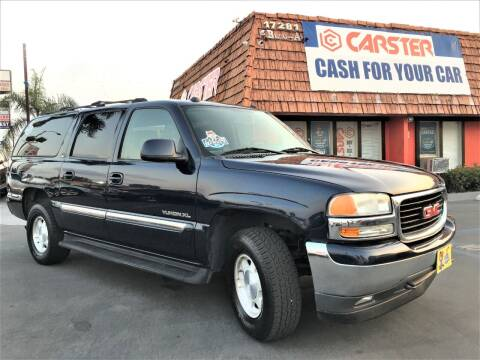2005 GMC Yukon XL for sale at CARSTER in Huntington Beach CA