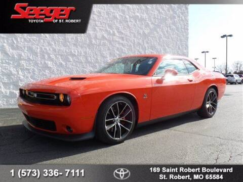 2018 Dodge Challenger for sale at SEEGER TOYOTA OF ST ROBERT in St Robert MO