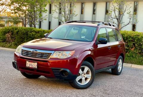 2010 Subaru Forester for sale at Carfornia in San Jose CA
