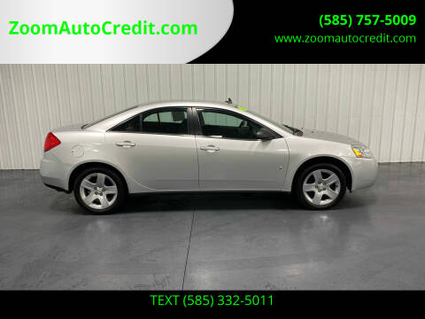 2009 Pontiac G6 for sale at ZoomAutoCredit.com in Elba NY