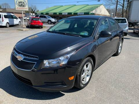2013 Chevrolet Cruze for sale at Sam's Auto in Akron PA
