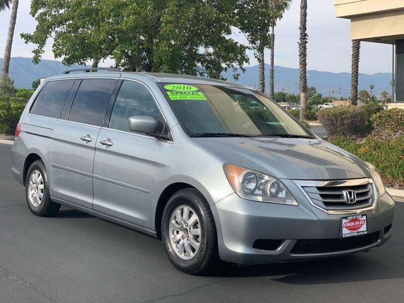 2010 Honda Odyssey for sale at Esquivel Auto Depot in Rialto CA