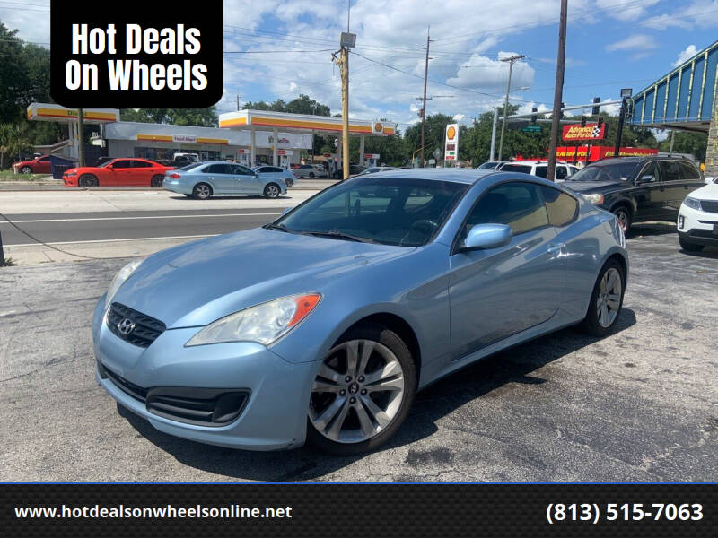 2011 Hyundai Genesis Coupe for sale at Hot Deals On Wheels in Tampa FL