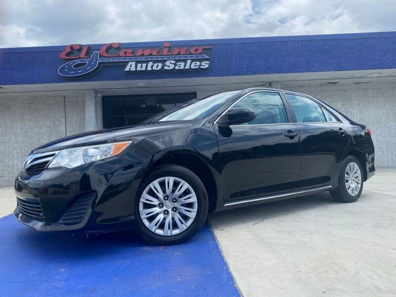2012 Toyota Camry for sale at El Camino Auto Sales Gainesville in Gainesville GA