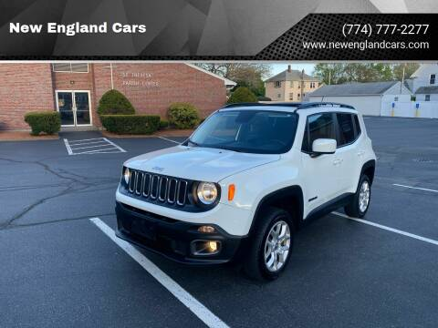 2017 Jeep Renegade for sale at New England Cars in Attleboro MA