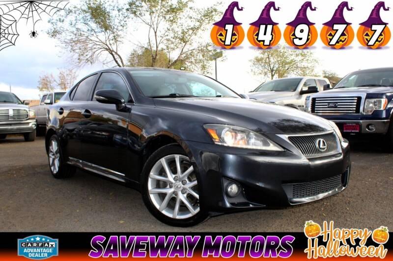 2011 Lexus IS 250 for sale at Saveway Motors in Reno NV