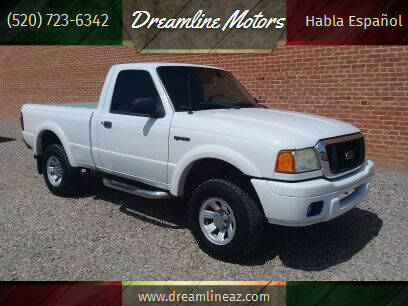 2005 Ford Ranger for sale at Dreamline Motors in Coolidge AZ