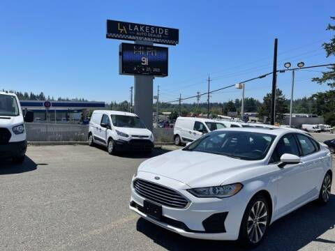 2020 Ford Fusion for sale at Lakeside Auto in Lynnwood WA