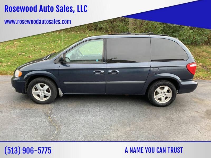 2007 Dodge Caravan for sale at Rosewood Auto Sales, LLC in Hamilton OH