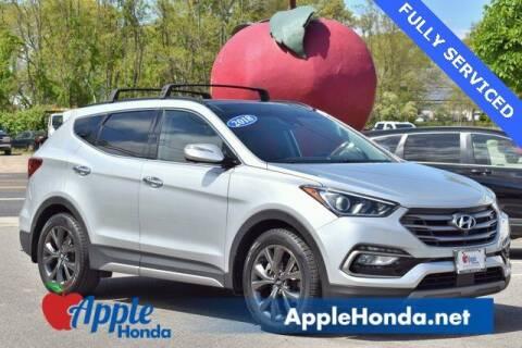 2018 Hyundai Santa Fe Sport for sale at APPLE HONDA in Riverhead NY