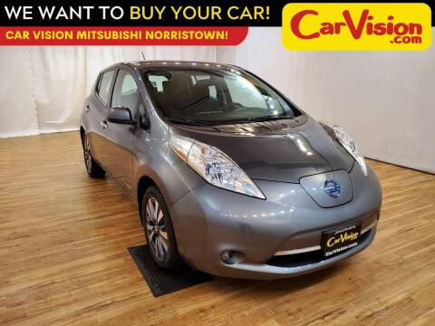 2017 Nissan LEAF for sale at Car Vision Mitsubishi Norristown in Trooper PA