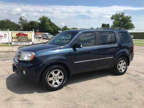2011 Honda Pilot for sale at Cordova Motors in Lawrence KS