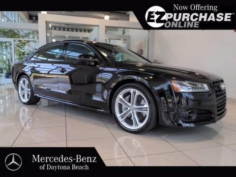 2017 Audi A8 L for sale at Mercedes-Benz of Daytona Beach in Daytona Beach FL